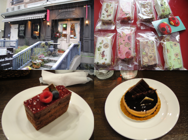 サンニコラ・香林坊 チョコ専門店だけあってチョコ系のケーキが絶品