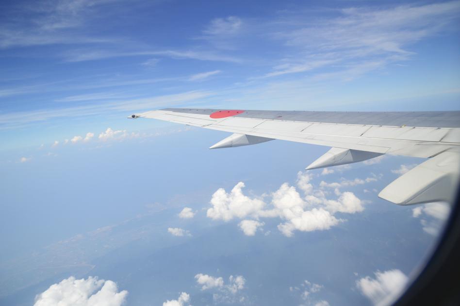 飛行機GO!GO! ANA444便 松山→大阪伊丹